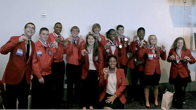 RCA brings home gold from SkillsUSA state competition