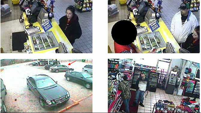Deputies search for armed robbery suspects
