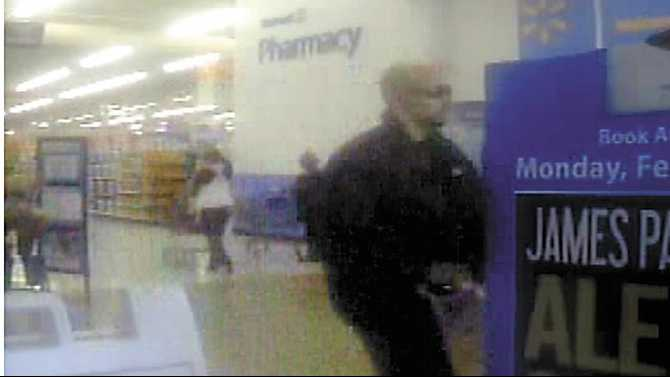 Police search for credit card thief