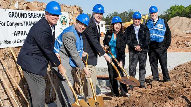 Pratt breaks ground on 'eco campus' and solid waste transfer station
