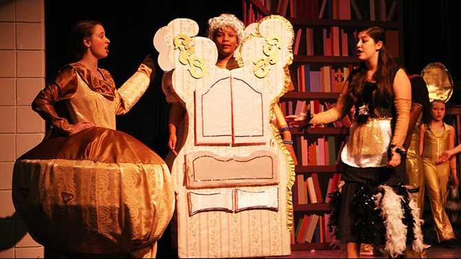 Davis Middle stages 'Beauty and the Beast'