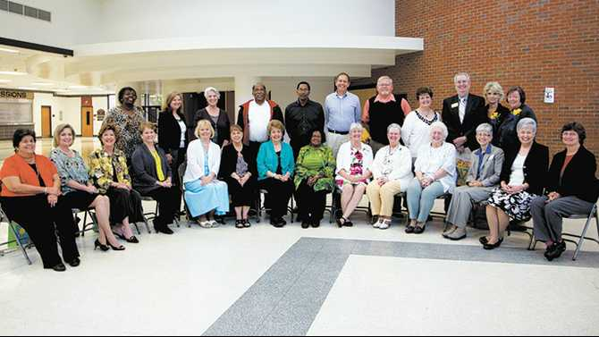 Retiring educators honored
