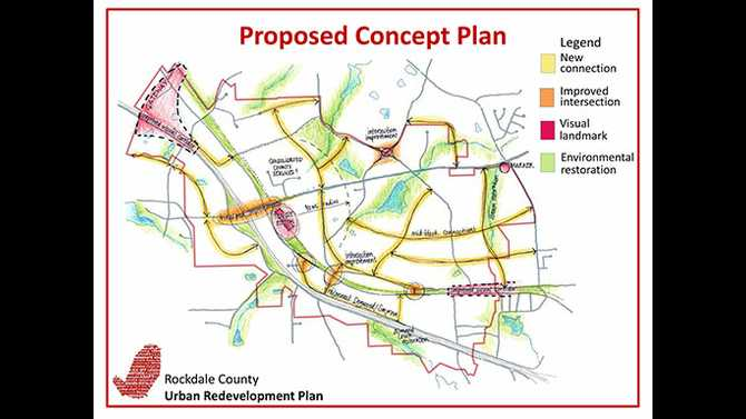 ARC to help with Rockdale Urban Redevelopment Plan
