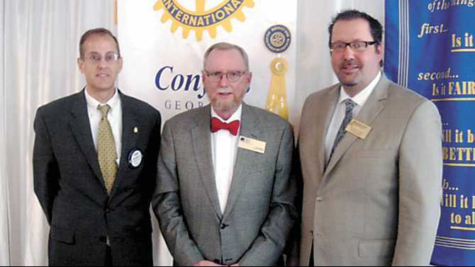 GPC president speaks at Rotary