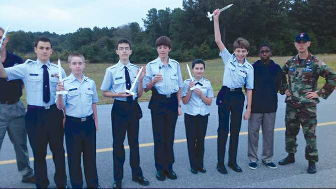 Civil Air Patrol blasts off