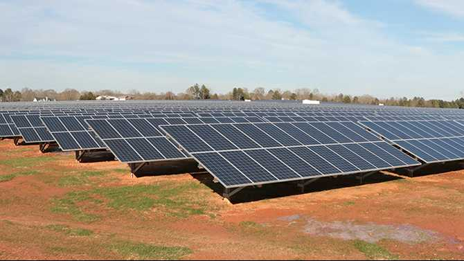 State's largest solar farm in Social Circle