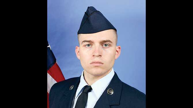 Basic training graduate Adam Loso