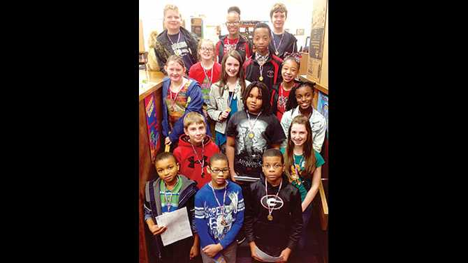 CMS science fair winners go on to  district
