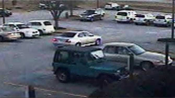 Rash of car break-ins in commercial parking lots