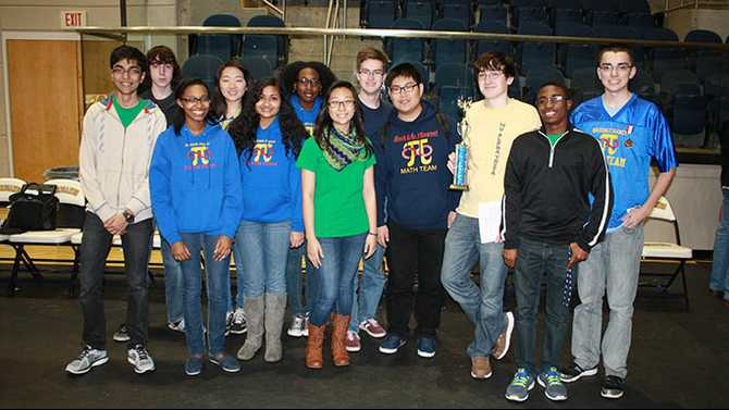 Magnet students take gold in math competition