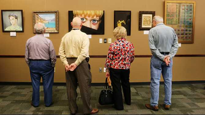 Art of the spirit in Ga. Artists with Disabilities Exhibit, March 5-22