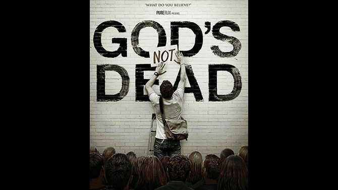 Defending belief in Christian film 'God's Not Dead'