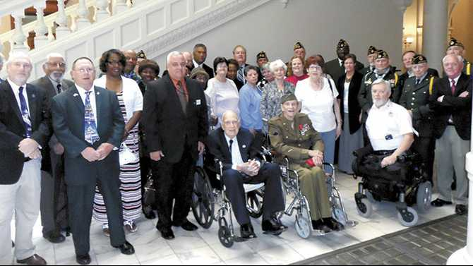 Honoring the aging warriors of WWII