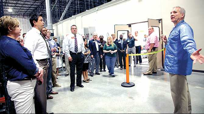 Lexicon expands repair center