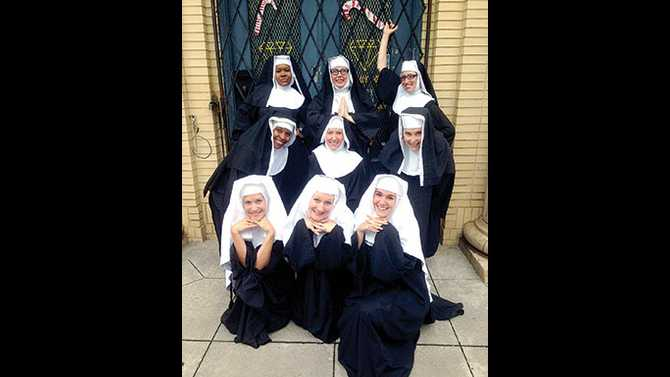 Irreverent fun in 'Nunsense'