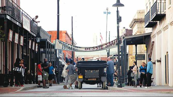 'Bessie' filming in Olde Town through Friday