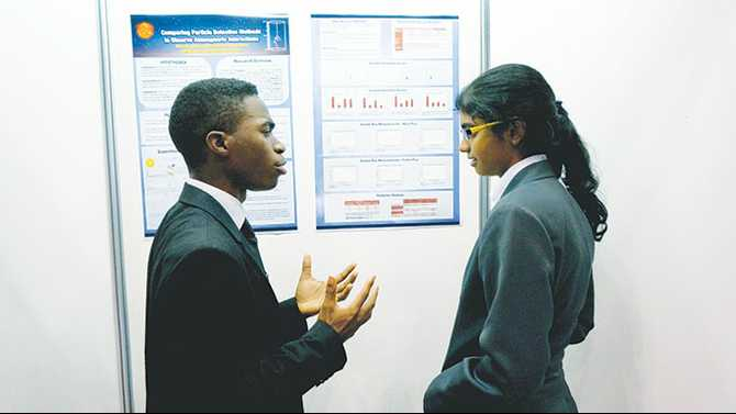Magnet seniors present research at Japanese competition