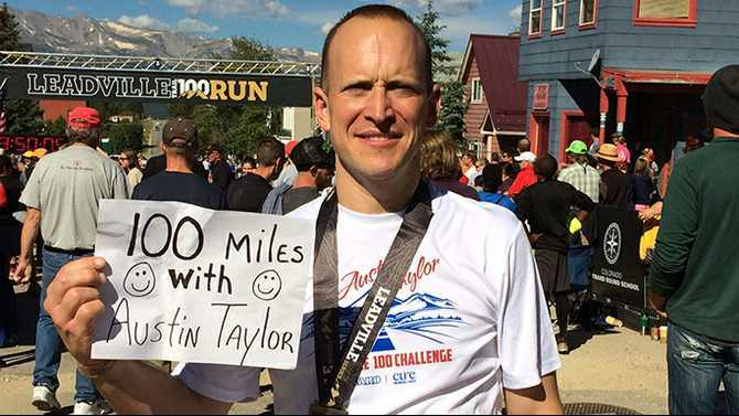 A 100-mile run for Taylor