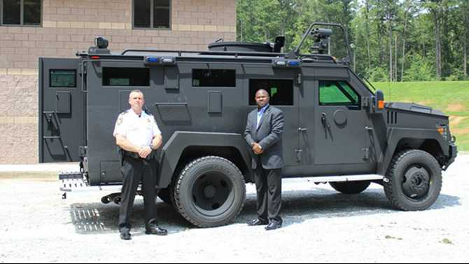 Sheriff's Office gains new SWAT armored vehicle