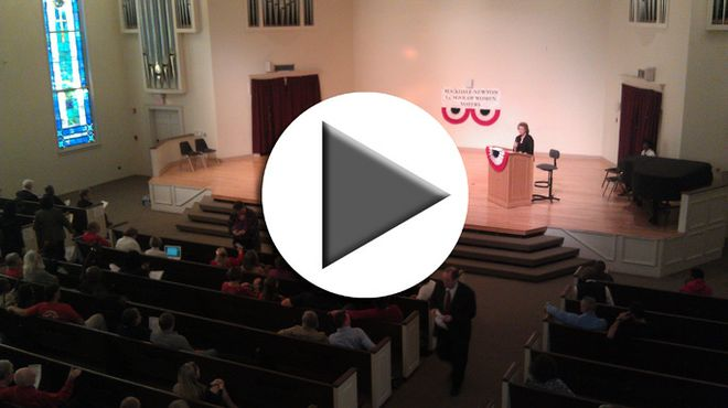 VIDEO: League of Women Voters forum