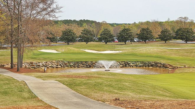 Cherokee Run offers picturesque test