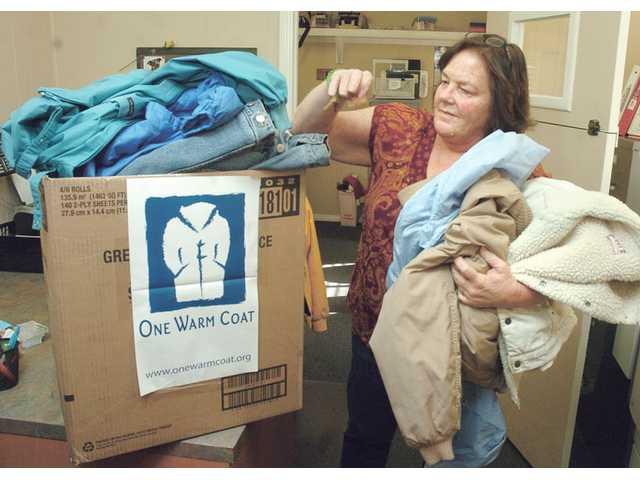 Coat drive held for SCV emergency winter shelter