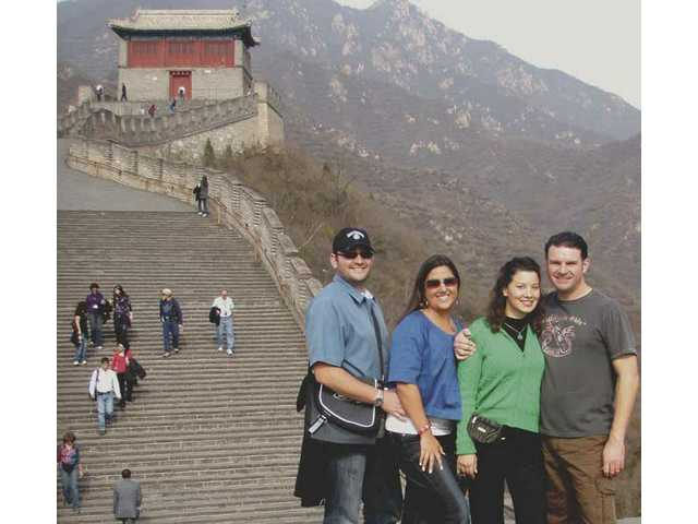 Local chamber members visit China