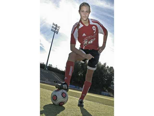 Hart forward Katie Trevino: Source of inspiration