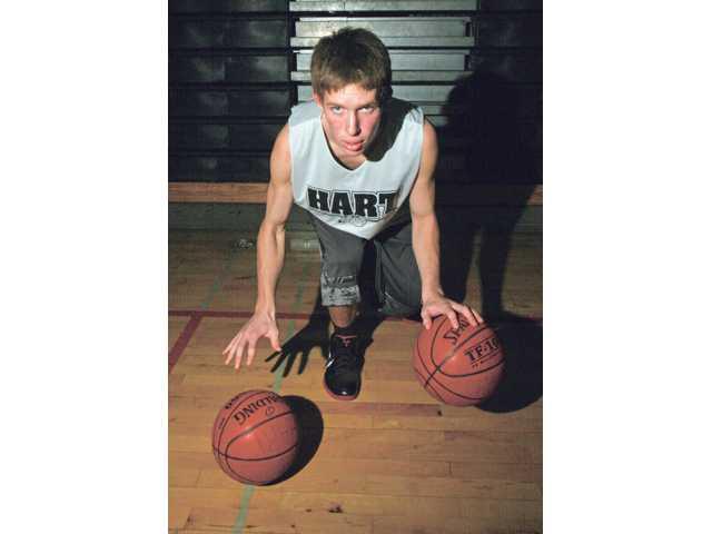 Hart boys basketball: On his own accord