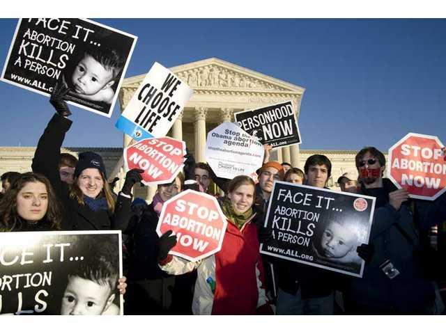 Washington, D.C., rally marks Roe v. Wade anniversary, new president