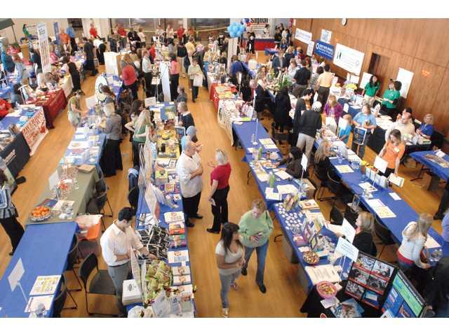 Wellness fair draws a crowd