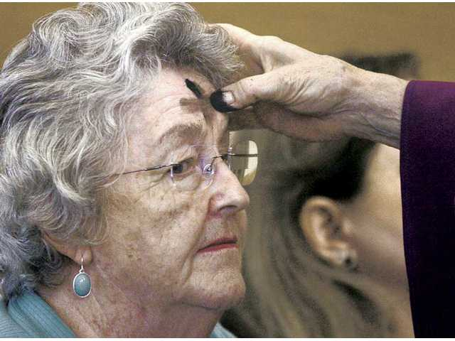 Locals observe Ash Wednesday