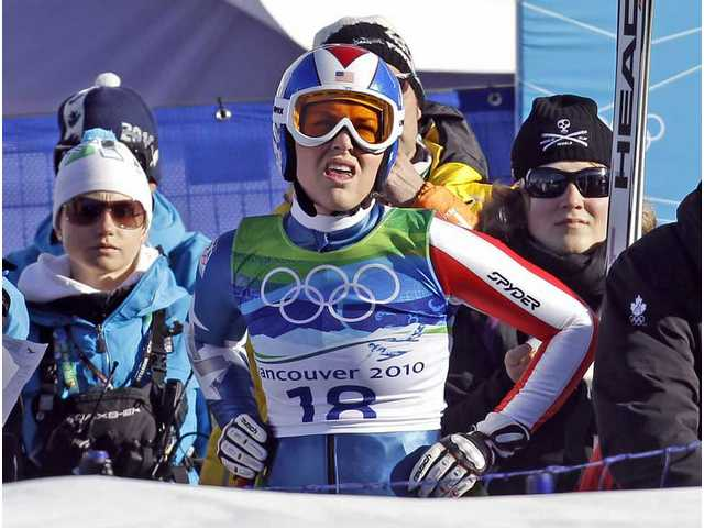 Olympics spoiler alert! Results of women's super-combined downhill