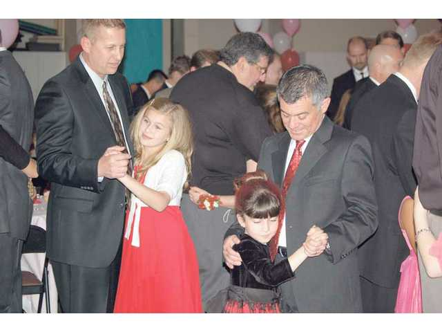 Father-daughter dance held at Legacy Christian