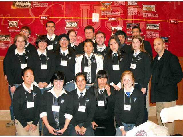 Saugus Academic Decathlon team wins Division-II title