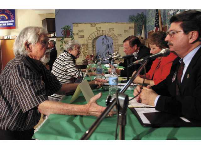 Local Seniors Participate in City Council Debate