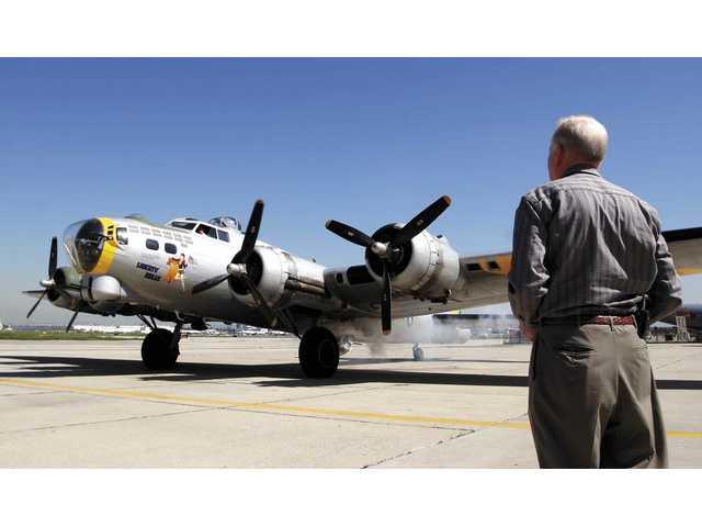 History takes flight on a B-17G