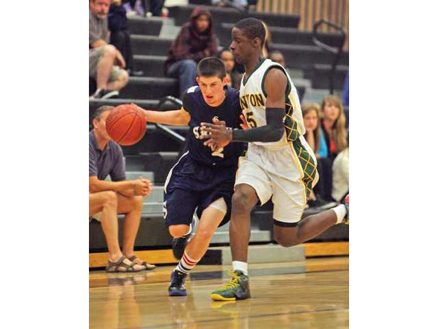 Boys basketball: Seniors compete in SCV Hoops Finale