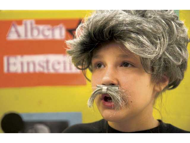 Students dress up as social leaders