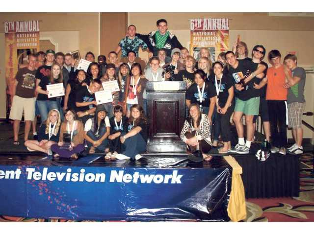 Students bring home TV awards