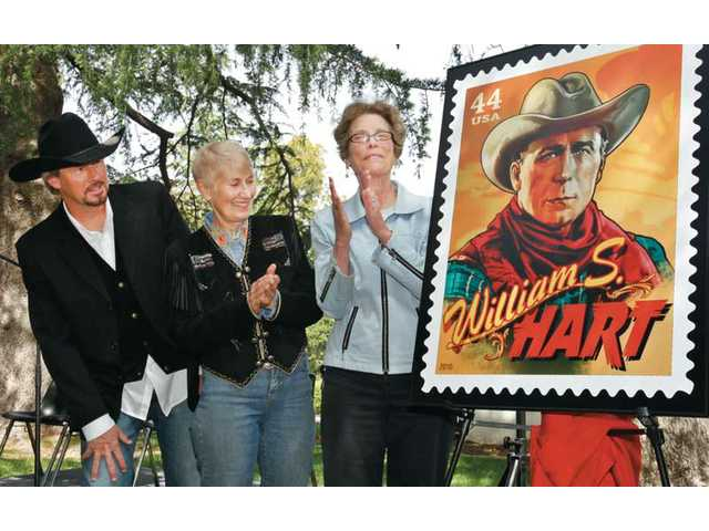 Screen legend William S. Hart honored in stamp series