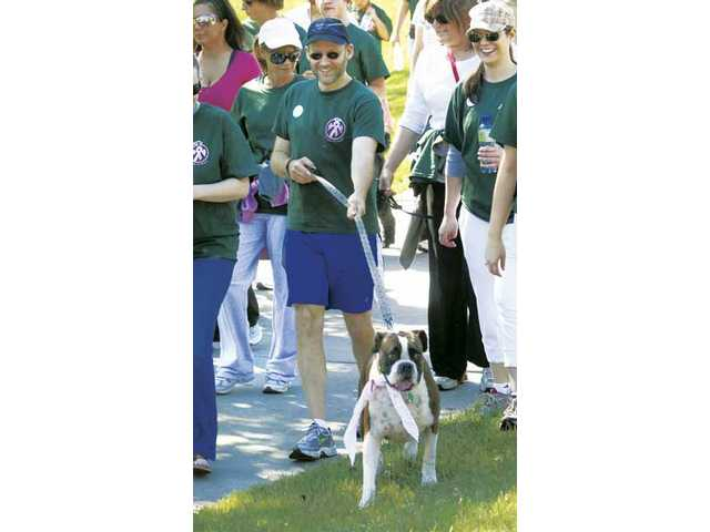 'De-feeting' cancer at annual walk