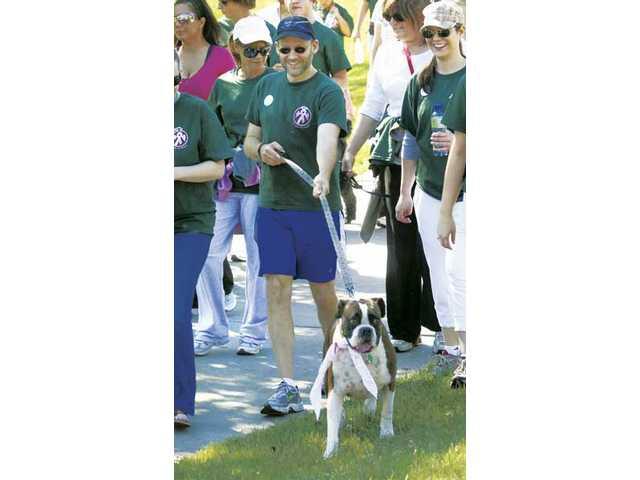 'De-feeting' cancer at annual walk