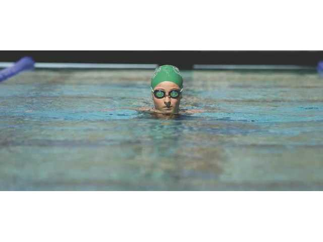 Area swimmers don't miss a beat