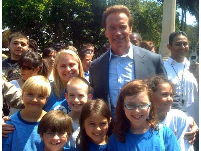 Earth Day: Students meet the governor
