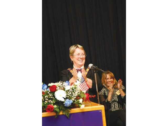 Cheryl Laymon is Elks' new Exalted Ruler
