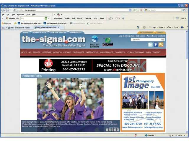 Signal soft-launches improved website
