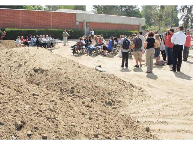 Hart breaks ground for facelift