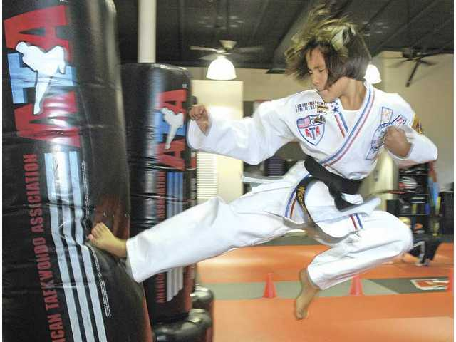 Martial artist: del Rosario wins world title in sparring