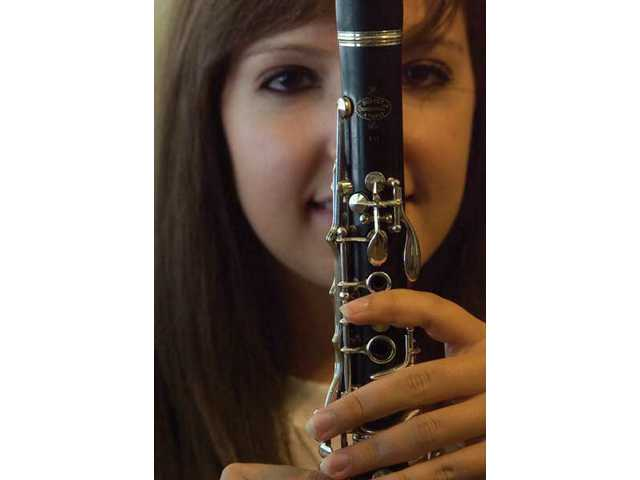 Newhall native playing clarinet at Olympics